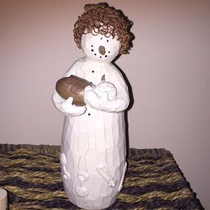 Other - -** Ceramic snowmom and baby new
